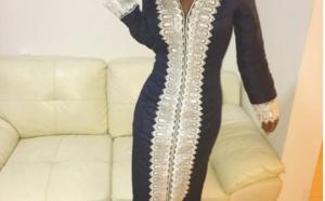 Léa Soukayna Ndiaye en mode Djellaba