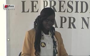 Vidéo : Thérese Faye Diouf applaudie par ses chantres et huée par ses détracteurs