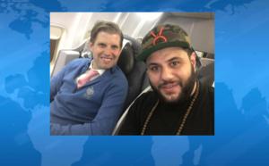 Quand le comédien musulman Mohammed Amer partage son avion avec Eric Trump, le fils du président élu des Etats-Unis