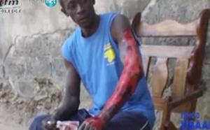 Vidéo: incendie dans un garage, le propriétaire se brûle en voulant sauver son argent!!