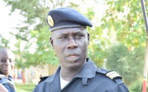 Photos-Gamou 2016  : Lieutenant colonel Mama Moussa Niang de la Brigade des sapeurs pompiers et chargé de communication