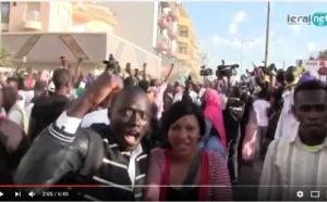 Vidéo-Scènes de liesse des Gambiens après l'investiture d'Adama Barrow, regardez!!