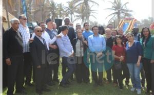 L'ancien Président du Sénégal, Abdou Diouf avec l'Orde des médecins marocains