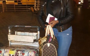 Mbathio Ndiaye glamour en Louis Vuitton, regardez