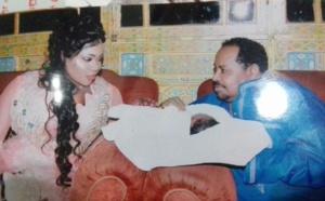 Maya Diagne et son mari Ahmad Khalifa Niasse avec leur joli petit bébé, regardez...
