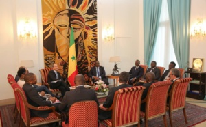 Le Chef de l'Etat a reçu une délégation du groupe Société Générale.