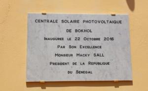 Senergy 2, la plus grande centrale solaire d'Afrique de l'Ouest, inaugurée au Sénégal