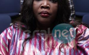 Photo- Ndélla Madior en grand boubou Thioup