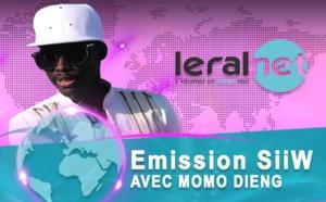 Momo Dieng guest star de l'émission SIIW sur Leraltv