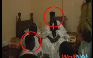 Vidéo: Sidy Lamine NIASSE a rendu visite à Serigne Sidy Mokhtar MBACKE à Touba