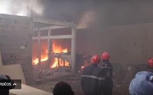 URGENT: Plusieurs ateliers prennent feu à Léona (vidéo-photos)