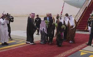 Le voyage du Président Trump à Riyad en images