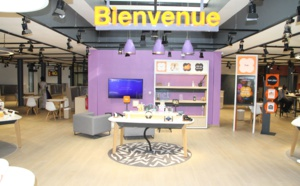 Inauguration du Smart Store Orange  Cheikh Anta Diop