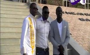 Regardez, le tournage clip-vidéo, Youssou Ndour et  Akon au Monument de la Renaissance africaine
