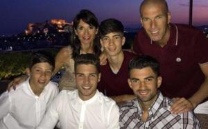 Photos: La famille Zidane passe du bon temps en Grèce