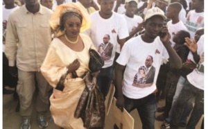 Arrivée du PM : Me Nafissatou Diop gagne le pari de la mobilisation