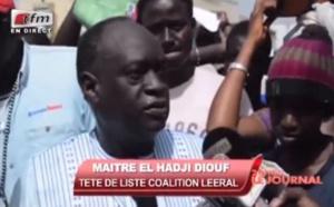 Vidéo : Convaincu de sa victoire, Me El Hadji Diouf s'oppose au report des élections