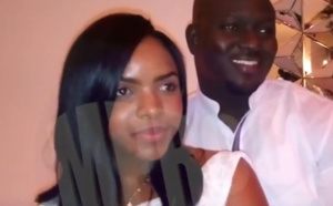 Baye Ndiaye, le frère de Aziz Ndiaye, fête son anniversaire avec sa femme Assy Sy