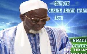 Vidéo Émouvante : Le Khalife Général de Thiénaba Serigne Cheikh Ahmed Tidiane Seck pleure Al Amine...