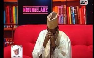 Émouvant - Rappel à Dieu de Serigne Abdoul Aziz Sy Al Amine: Ahmed Khalifa Niass fond en larme sur le plateau de Sen TV.