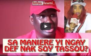 """Vidéo-L'animatrice à Salam Diallo: """"loutax boy tassou di maniérou comme..."""""""