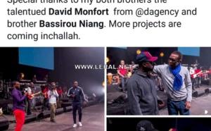 """Bercy 2017 - Youssou Ndour: """"Un grand merci à mes deux frères, le talentueux David Monfort de Dagency et son frère, Bassirou Niang"""""""