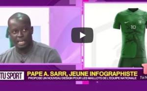 Cet infographiste propose un nouveau design pour les futurs maillots de l'équipe nationale du Sénégal