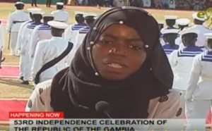 Gambia's 53rd Independence celebration (Vidéo)
