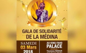Gala de la Solidarité Médina le 03 mars 2018 au King Fahd Palace