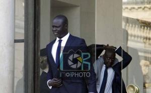 Photos : Amadou Gallo Fall, Vice-président NBA pour l'Afrique, au palais de l'Élysée