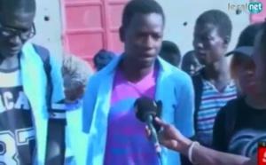 Mbour: Les élèves des trois lycées, dans les rues, réclament leur droit à l'éducation (wolof)