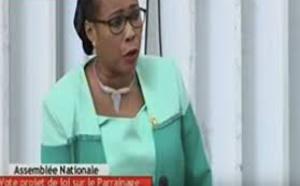 Vedette de la séance plénière,  Mame Diarra, Fam de passion !