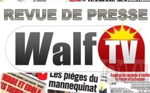 Revue de presse du 21 juillet 2018 de Walftv