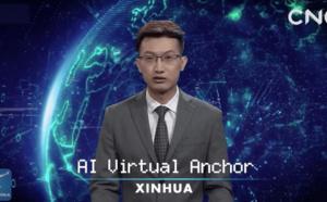 Chine: Bienvenue au premier robot présentateur du Journal Télévisé, stupéfiant !