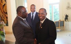 La déclaration en Wolof de Macky Sall chez la famille de Sidy Lamine Niasse