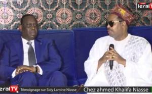"""Vidéo-Ahmed Khalifa Niasse à Macky Sall : """"Tu inaugures à l'Est, à l'Ouest, au Nord, au Sud et au Centre"""""""