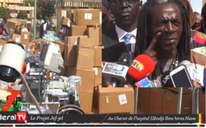 Kaolack: L'association jëf Jël et l'ONG Medshare offrent 80 millions à l'hôpital régional