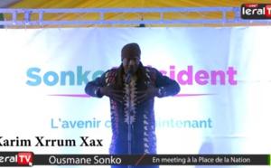 Vidéo : Le discours puissant de Karim Xrrum Xax au meeting de Ousmane Sonko