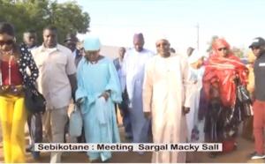 Vidéo : Méga meeting Sargal Macky Sall à  Sebikotane avec Oumar Guèye