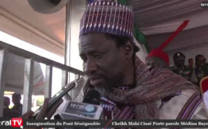 """Cheikh Mahi Cissé: """"Ce pont de la Sénégambie est un grand bond en avant vers le développement"""""""