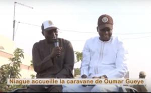 Vidéo : Oumar Guèye en caravane dans la zone de Niague où la population compte réélire Macky Sall à  95%