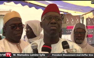 VIDEO - Présidentielle 2019 : Les imams du Sine votent Macky Sall