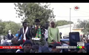 Vidéo - À Dagana, Sonko rend hommage à Oumar Sarr du Pds