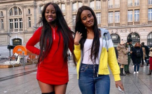 Photos : Queen Biz et sa soeur, fi tojna rajax...