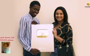 MARODI a reçu son trophée Youtube Awards Gold