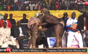 VIDEO : Replay Balla Gaye 2 vs Modou Lô du 13 janvier 2019