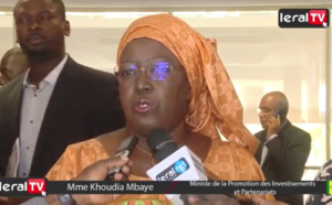 """VIDEO - Khoudia Mbaye : """"Sur le plan de l'emploi des jeunes, la Belgique peut nous apporter beaucoup..."""""""
