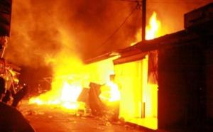 Incendie au lycée Sangalkam : Le feu ravage une partie des bulletins semestriels