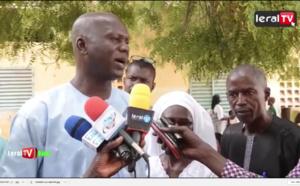 VIDEO - Mbacké: Seydou Nourou Sy, DG de la BNDE offre des tables-bancs à l'école M. Mor Diarra