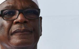 Mali : visite du président IBK dans le village dévasté d'Ogossagou